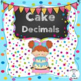 Decimals - Cake Decimals