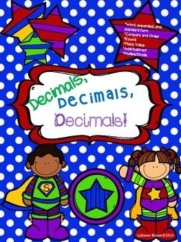Decimals, Decimals, Decimals!