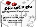Decimals- Dice and Digits