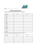 Decimals Discovery Calculator Activity