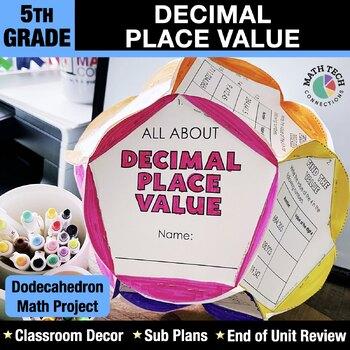 Decimals - Dodecahedron Project