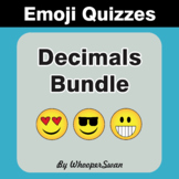 Decimals Emoji Quiz Bundle