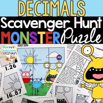 Decimals Enrichment | Decimal Word Problems | Decimals Activity