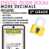 Decimals Escape Room