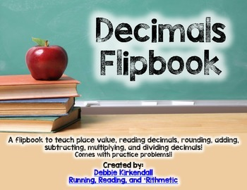 Decimals Flip  Book