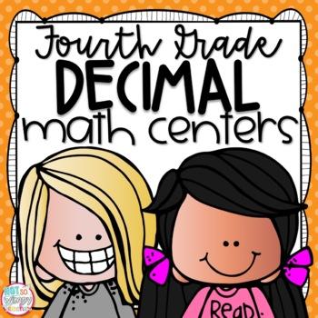 Decimals Fourth Grade Math Centers