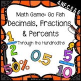 Go Fish: Decimals, Fractions, & Percents {Math Game}