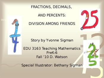 Decimals, Fractions, and Percents Book