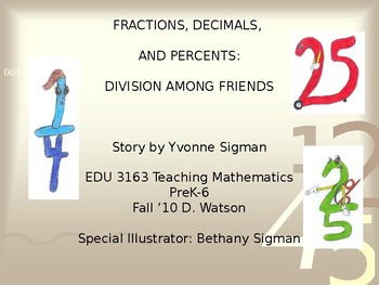 Decimals, Fractions, and Percents Book