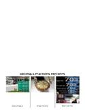 Decimals, Fractions, and Percents Foldable
