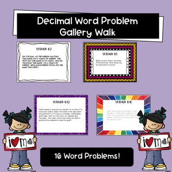 Decimals Gallery Walk