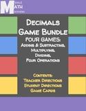 Decimals Game Bundle