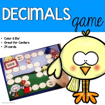 Decimals Game (File Folder)