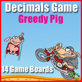 Decimals Game - Number Fluency - Counting by Hundredths -
