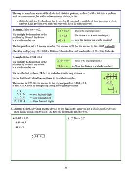 Decimals, Grade 5