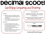 Decimals: Identifying, Comparing, and Ordering Decimals Scoot!