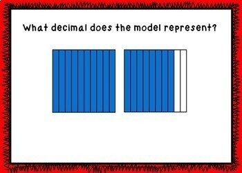 Decimals - Identifying Decimals BOOM Cards! (24 Self-checking Cards)