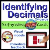 Decimals Identifying Decimals BOOM Cards Digital Math