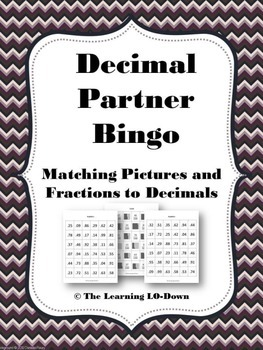 Decimals: Identifying Decimals From Pictures and Fractions