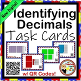 Decimals Identifying Decimals TASK CARDS NOW Digital!
