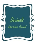Decimals Interactive Journal