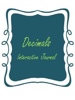 Decimals Interactive Journal