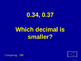 Decimals Jeopardy