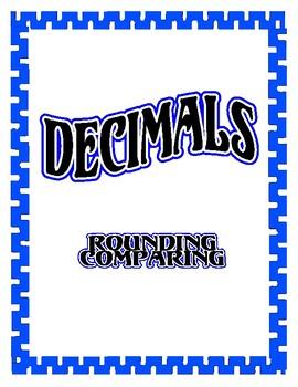 Decimals Lesson Unit - Rounding and Comparing Decimals