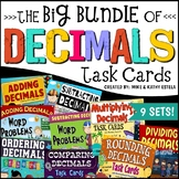 Decimals Task Cards {9 Sets}