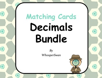 Decimals Matching Cards Bundle
