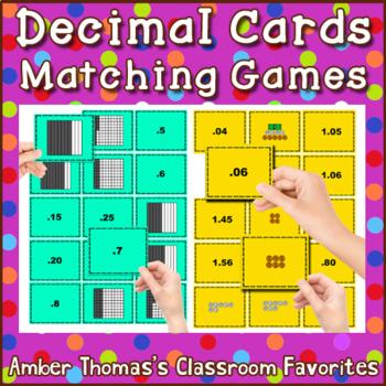 Decimals Matching Game