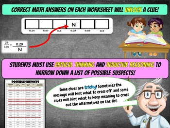 Decimals Review Activity - Comparing, Ordering, Converting, Models