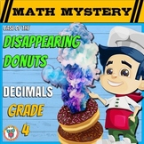 Decimals Review Activity Math Mystery - Comparing, Ordering, Converting, Models