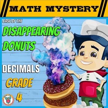 Decimals Math Mystery Activity - Comparing, Ordering, Conv