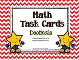 Decimals:  Math Task Cards