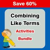 Combining Like Terms {Mega Bundle}