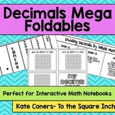 Decimals Foldables