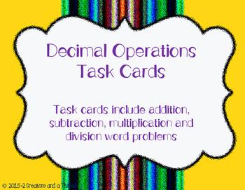 Decimals- Mixed Operations TEKS 5.3E, 5.3G, 5.3K