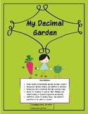 Decimals, Models: My Decimal Garden