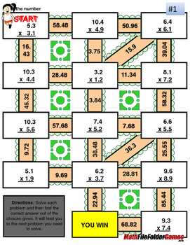 Decimals - Multiplication