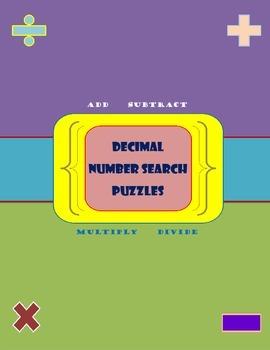 Decimals Number Search