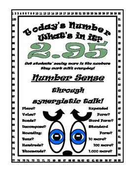 Decimals Number Sense