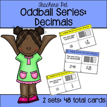 Decimals Oddball Cards