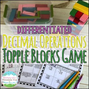 Decimals Operations Game