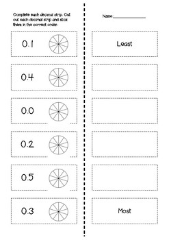 Decimals Pack: Wholes and Tenths