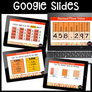 Decimals Place Value