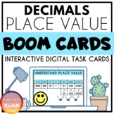 Decimals Place Value Boom Cards Distance Learning
