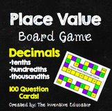 Decimals Board Game