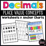Decimals Place Value Worksheets