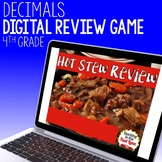 Decimals Review Game - Hot Stew Review